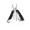 Solid multitool with carabiner black P221.331