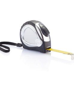 Chrome plated auto stop tape measure black P113.401
