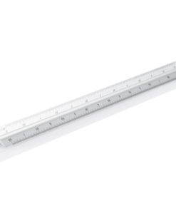 Aluminium triangle rule - 30cm silver P165.132