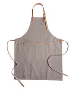 Deluxe canvas chef apron grey P262.822