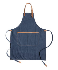 Deluxe canvas chef apron blue P262.825