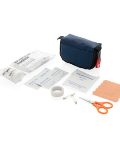 First aid set in pouch navy P265.315