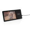 5W Wireless charger and photo frame black P308.041