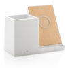 Ontario 5W wireless charger with pen holder white P308.853