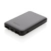 5.000 mAh wireless charging pocket powerbank black P322.201