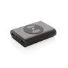 Aluminium 5.000 mAh Wireless 5W Pocket Powerbank black P324.491
