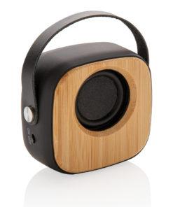 Bamboo 3W Wireless Fashion Speaker black P328.589