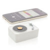 Mini Vintage 3W wireless speaker white