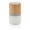 Bamboo colour changing 3W speaker light white P329.343