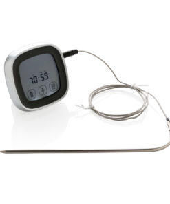 Digital meat thermometer black