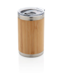 Bamboo coffee to go tumbler brown P432.339