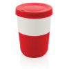 PLA cup coffee to go 380ml red P432.834