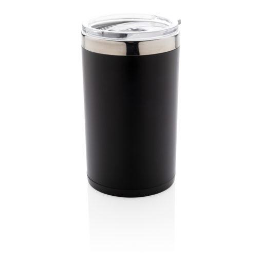 Light up logo coffee mug black P432.931