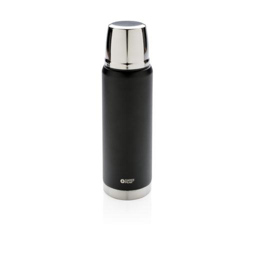 Swiss Peak Elite 0.5L copper vacuum flask black P433.351