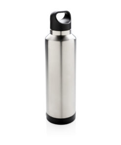 Vacuum flask with wireless charging grey P433.422