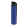 Easy lock vacuum flask blue