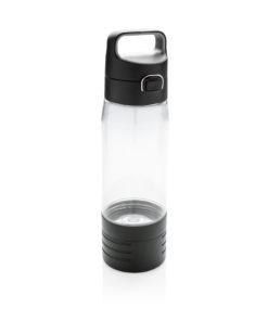 Hydrate bottle with true wireless earbuds transparent P436.120