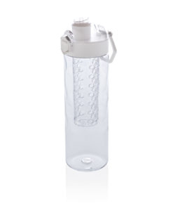 Honeycomb lockable leak proof infuser bottle white P436.263