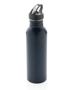 Deluxe stainless steel activity bottle navy P436.420