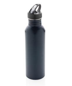 Deluxe stainless steel activity bottle navy P436.420