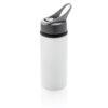 Aluminium sport bottle white P436.563