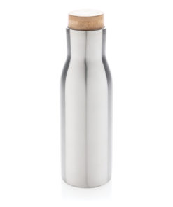Clima leakproof vacuum bottle with steel lid grey P436.612