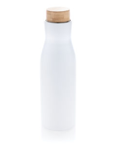Clima leakproof vacuum bottle with steel lid white P436.613