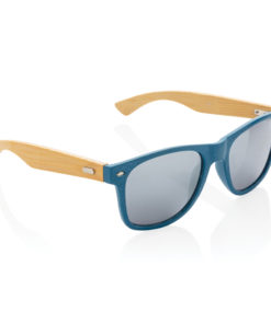 Wheat straw and bamboo sunglasses blue P453.925