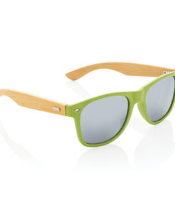 Wheat straw and bamboo sunglasses green P453.927