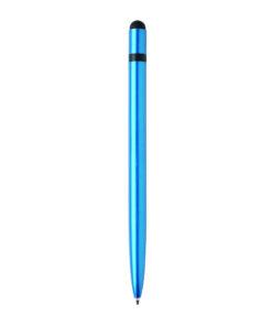 Slim aluminium stylus pen blue P610.885