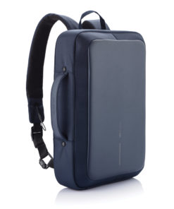 Bobby Bizz anti-theft backpack & briefcase blue