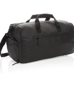Fashion black weekend bag PVC free black P707.161