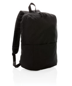 Casual backpack PVC free black P760.041