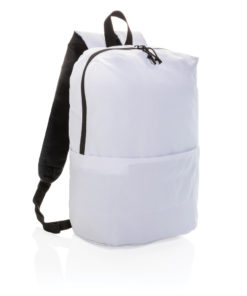Casual backpack PVC free white P760.043