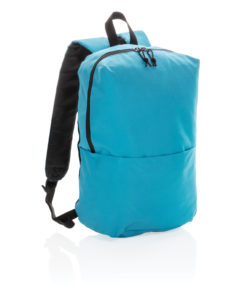 Casual backpack PVC free light blue P760.045