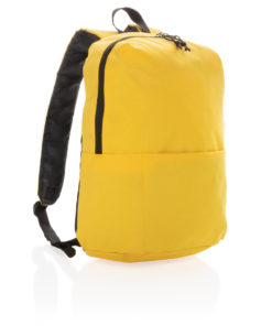 Casual backpack PVC free yellow P760.046