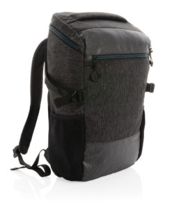 """900D easy access 15.6"""" laptop backpack PVC free black P760.071"""
