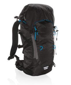 Explorer ribstop large hiking backpack 40L PVC free black