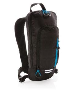 Explorer ribstop small hiking backpack 7L PVC free black