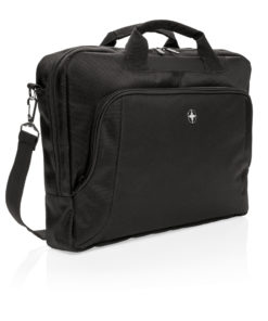 "Deluxe 15"" laptop bag black P762.090"