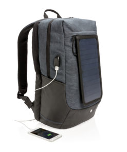 Eclipse solar backpack black P762.120