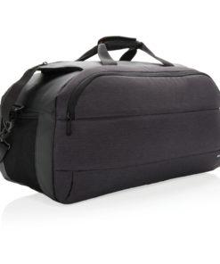 Modern weekend bag black P762.200