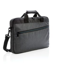 900D laptop bag PVC free black P762.421