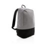 Standard RFID anti theft backpack PVC free grey
