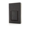 Deluxe A5 Notebook with phone pocket black P772.002