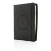 Air 5W RPET wireless charging notebook cover A5 black P774.051