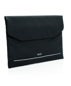 "Swiss Peak RFID 15.6"" laptop sleeve PVC free black P788.071"