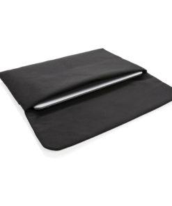"Magnetic closing 15.6"" Laptop sleeve PVC free black P788.081"