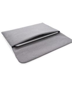 "Magnetic closing 15.6"" Laptop sleeve PVC free grey P788.082"