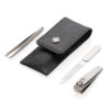 Swiss Peak 3pc manicure set black P820.081